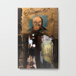 Jenever Bar, Ghent Metal Print