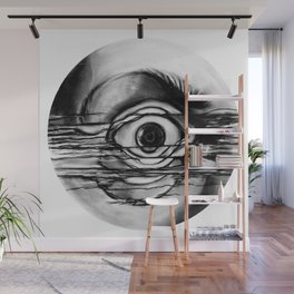Distorted View Wall Mural