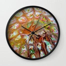 Fall Kaleidoscope Wall Clock