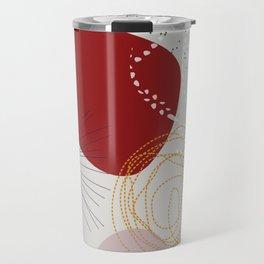 modern abstract VI Travel Mug
