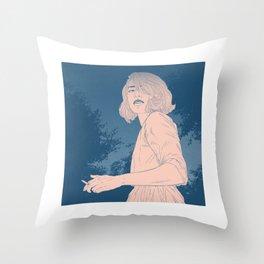 Meet Me After Midnight Throw Pillow