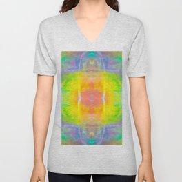 Prisms Play of Light 1 Mandala Unisex V-Neck