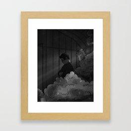 Silence. Framed Art Print