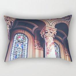 Cathedral Glass Rectangular Pillow