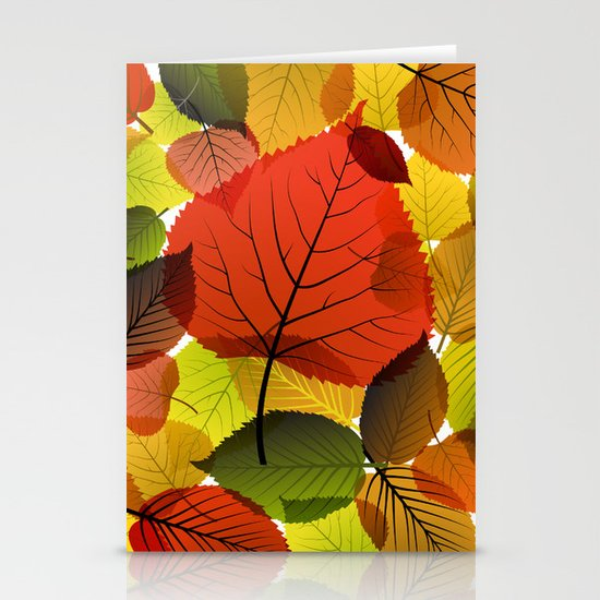 AUTUMN IS BACK Stationery Cards