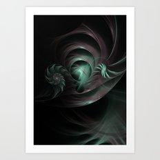 Space Funnels Art Print