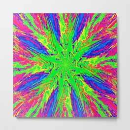 Psychedelic Times.... Metal Print