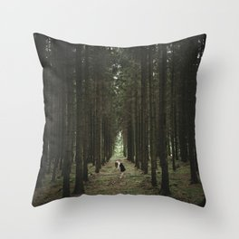 The Woods of St Olof 2 Throw Pillow