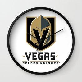 Vegas Golden Knights Wall Clock