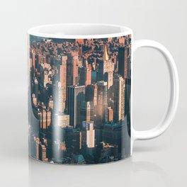 Birds eye view of Empire State Building Coffee Mug