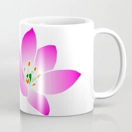 pink yellow flower, blossom, summer, spring, nature Coffee Mug