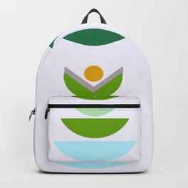 Minimal modern flowers Backpack