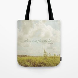 There is no place like home -The Wizard Of OZ Tote Bag