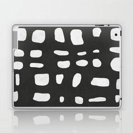 Black expressionist painting Laptop & iPad Skin