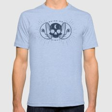 Kill the Sun, Bring Me Night Tri-Blue LARGE Mens Fitted Tee