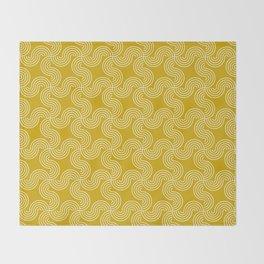 Op Art 90 Throw Blanket