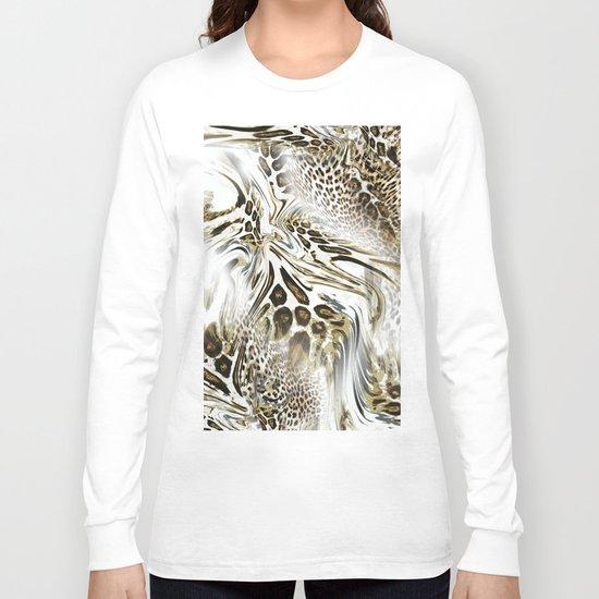 Trend Leopard Pattern Long Sleeve T-shirt
