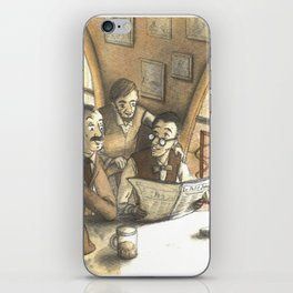 optimism in the early twentieth century iPhone Skin