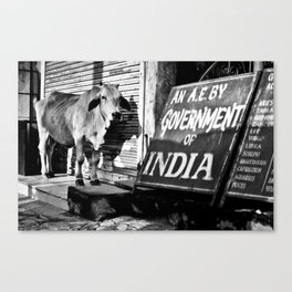 Indian gov. Canvas Print