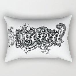Weird Rectangular Pillow