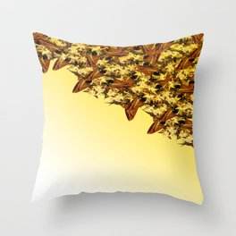 MINING Throw Pillow