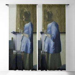 Johannes Vermeer - Woman Reading a Letter Blackout Curtain