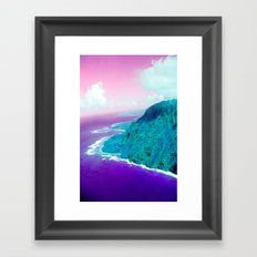 Island in the sun Framed Art Print