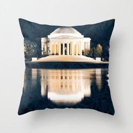 Defiant Jefferson Spirit Throw Pillow