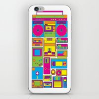 90s iPhone & iPod Skins featuring 90s by sknny