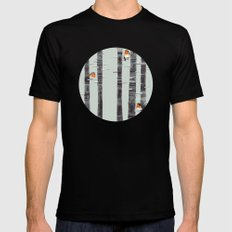 Robin Trees SMALL Black Mens Fitted Tee
