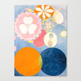 "Hilma af Klint ""The Ten Largest, No. 02, Childhood, Group IV"" Canvas Print"