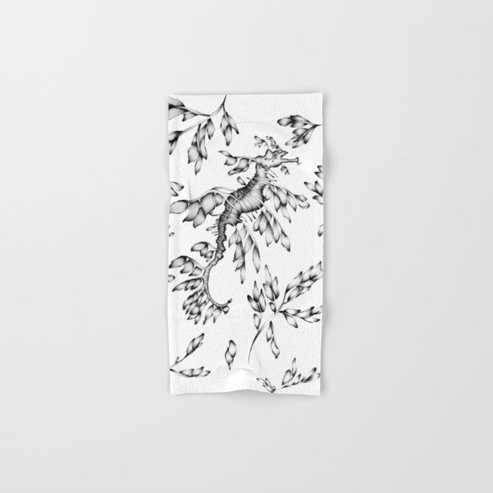 Camouflaged - the Sea Dragon Hand & Bath Towel