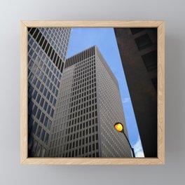 Chicago stories Framed Mini Art Print