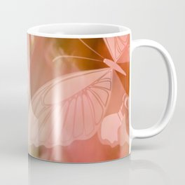 ROSE SPANGLES no5-QF-Butterfly Coffee Mug