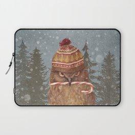 Christmas Owl  Laptop Sleeve