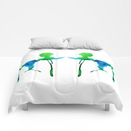 Twin Poodles Comforters