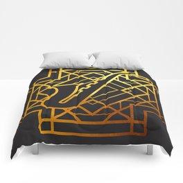 Art Deco Saxofon Comforters