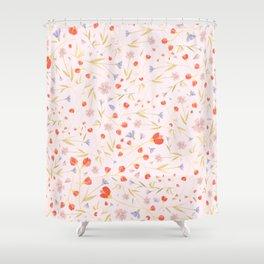 W/LDFLOWERS Shower Curtain