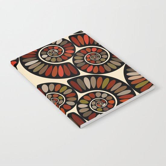 Spiral Tango-Black Notebook