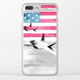 Air Force USA USAF Clear iPhone Case