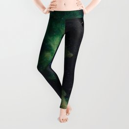 The Witch's Mirror The Dark Side Of The Moon (Mare Moscoviense & Witch Head Nebula) Leggings