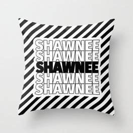 Shawnee USA CITY Funny Gifts Throw Pillow