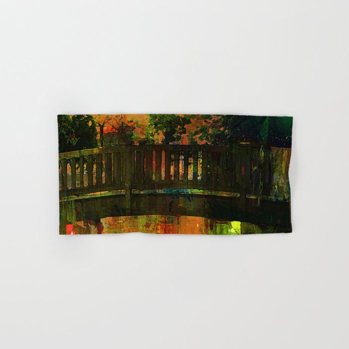 The bridge of Central Park Hand & Bath Towel