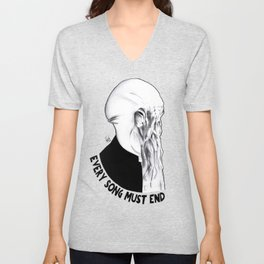 I think your song must end soon Unisex V-Neck