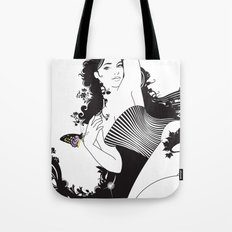 Black Nimf Tote Bag