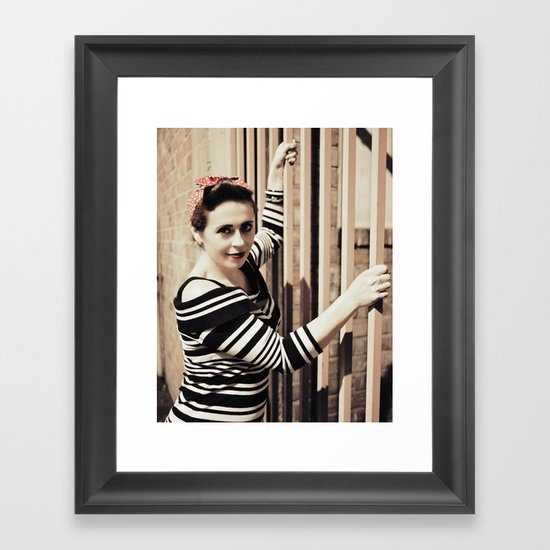Seattle Marie Framed Art Print