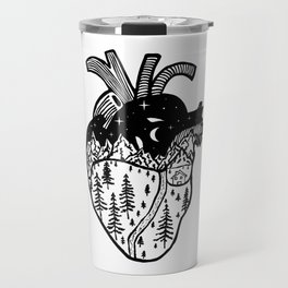 Heart in the Mountains Travel Mug