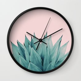 Agave Vibes #5 #tropical #decor #art #society6 Wall Clock
