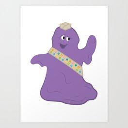 Blob Scout Art Print