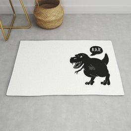 Cute T-Rex Raw Rug